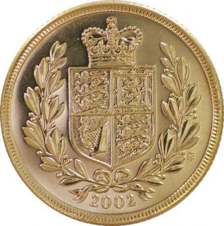2002 Gold Half Sovereigns